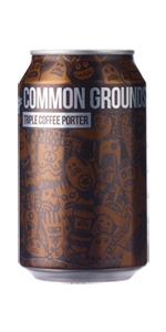 Magic Rock Brewing Common Grounds Triple Coffee Porter (33cl can) NV