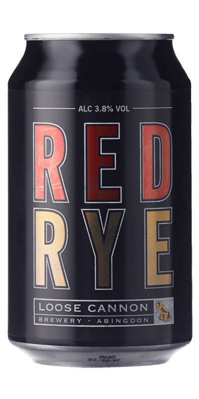 Loose Cannon Red Rye (33cl can) NV