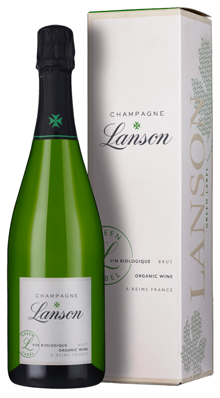 Champagne Lanson Green Label Organic Brut (in gift box) NV