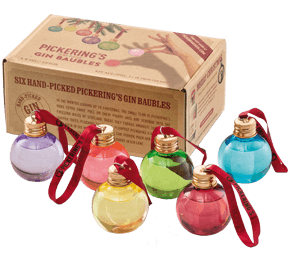Pickering's Christmas Gin Baubles (6x5cl)