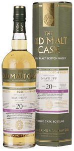 Old Malt Cask Macduff 20-Year-Old Whisky (70cl)