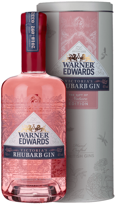 Warner Edwards Victoria's Rhubarb Gin (70cl in tin box) NV