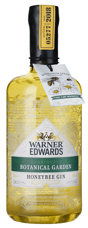 Warner Edwards Honeybee Gin (70cl) NV