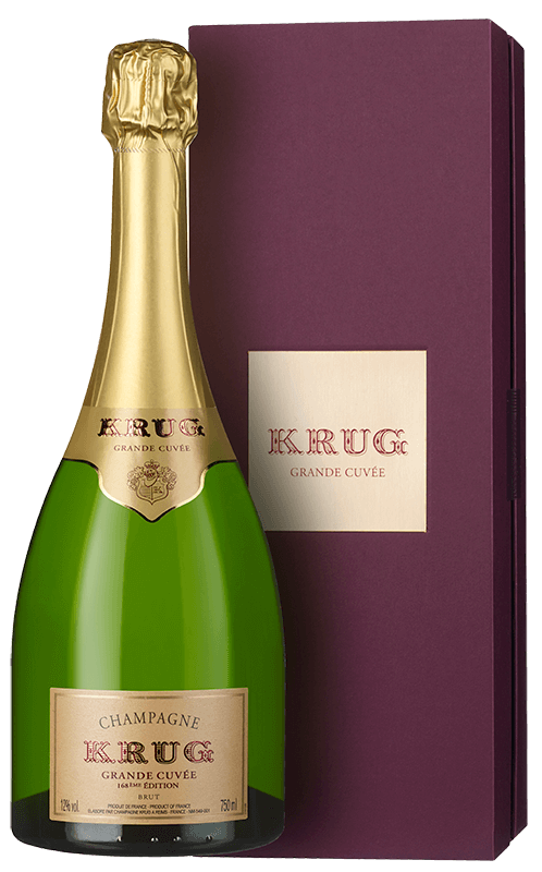 Champagne Krug Grande Cuvée 168th Édition (in gift box) NV