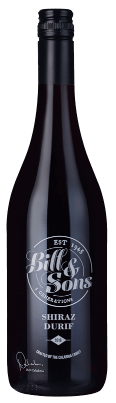 Bill & Sons Shiraz Durif 2018