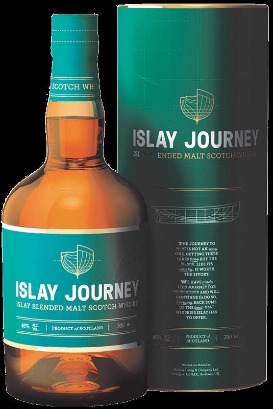 Islay Journey Blended Malt Scotch Whisky (in gift tube) (70cl) NV ...