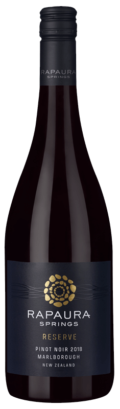 Rapaura Springs Marlborough Pinot Noir Reserve 2018