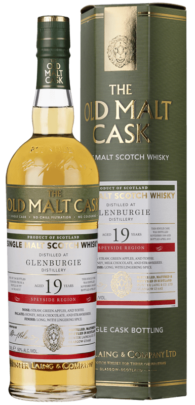 Old Malt Cask Glenburgie 19-Year-Old 1995 Whisky (70cl) NV