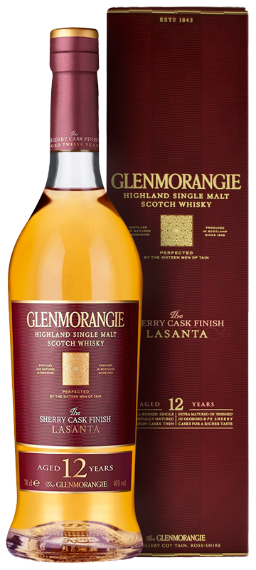 Glenmorangie Lasanta 12-year-old (70cl in gift box) NV
