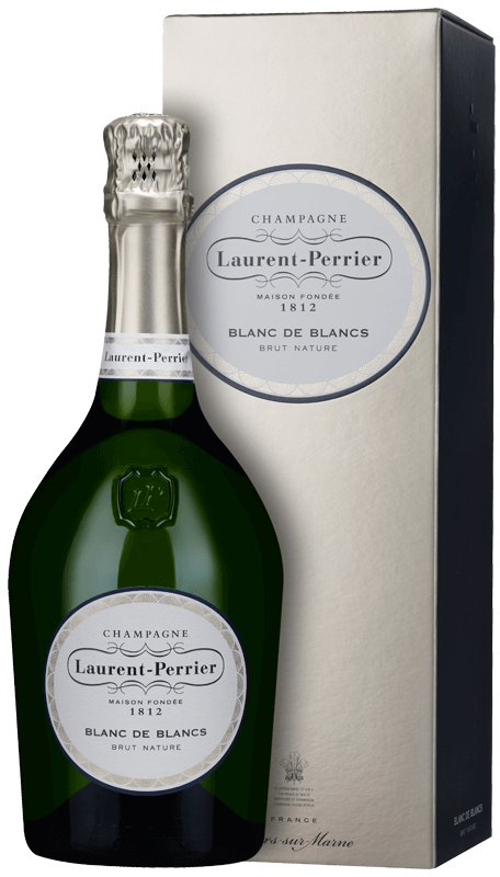 Champagne Laurent-Perrier Blanc de Blancs Brut Nature (in gift box) NV