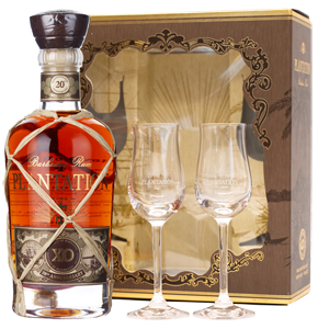 Plantation Barbados Rum XO with 2 glasses (70cl)