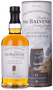 Balvenie Sweet Toast American Oak 12-Year-Old Single Malt Scotch Whisky (70cl)