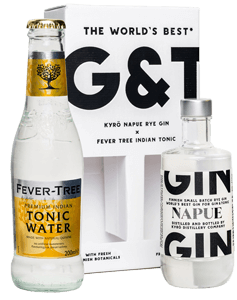 Kyrö Napue Gin (10cl) & Fever-Tree Premium Indian Tonic Water (20cl) NV