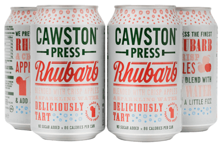 Cawston Press Sparkling Rhubarb (4x330ml)