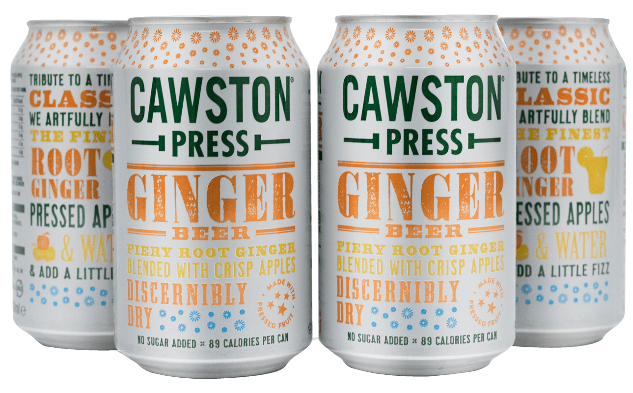 Cawston Press Ginger Beer (4x330ml)