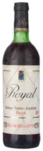 Royal Reserva 1970