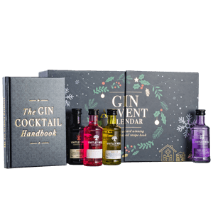 Gin Advent Calendar with Cocktail Book NV