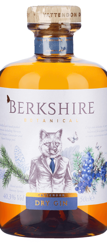 Berkshire Botanical Dry Gin (50cl) NV