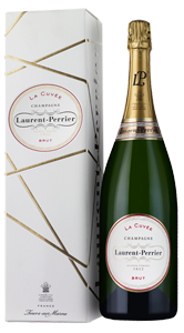 Champagne Laurent-Perrier La Cuvée (magnum in a gift box) NV