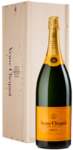 Champagne Veuve Clicquot Yellow Label Brut NV (jeroboam in gift box)