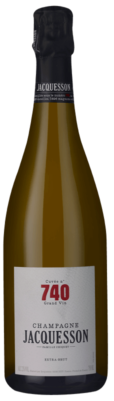 Champagne Jacquesson Cuvée 740 Extra Brut NV