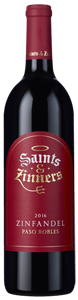 Saints and Zinners Zinfandel 2016