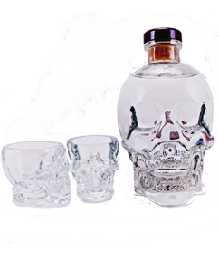 Crystal Head Vodka Skull Shot Gift Set
