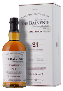 Balvenie 21-year-old Portwood Single Malt Scotch Whisky (70cl) NV