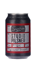 Signature Brewery Studio Pilsner (33cl can)