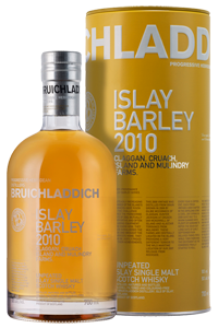 Bruichladdich Islay Barley Single Malt Scotch Whisky 2010