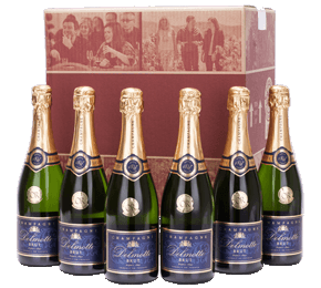 Six Delmotte Champagnes Gift