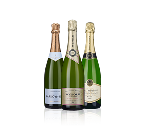 Exquisite English Fizz Trio