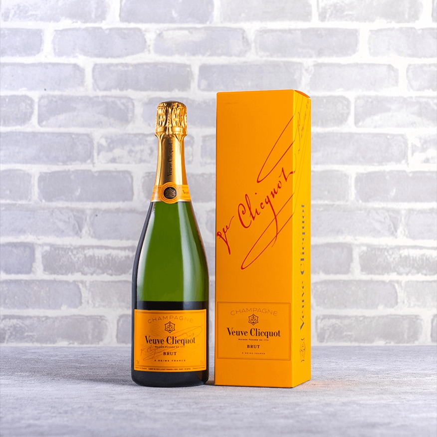 Champagne Veuve Clicquot Yellow Label Brut Gift