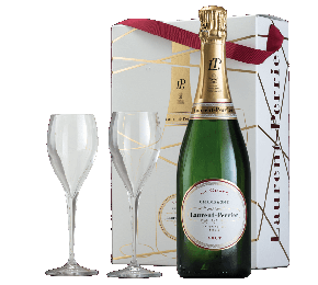 Laurent-Perrier Champagne & Glasses Gift