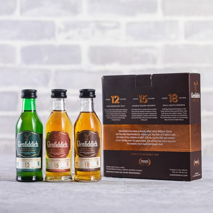 Glenfiddich Mini Mix (3x5cl) Gift