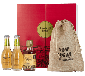 Old Bakery Rum & Ginger Gift Set