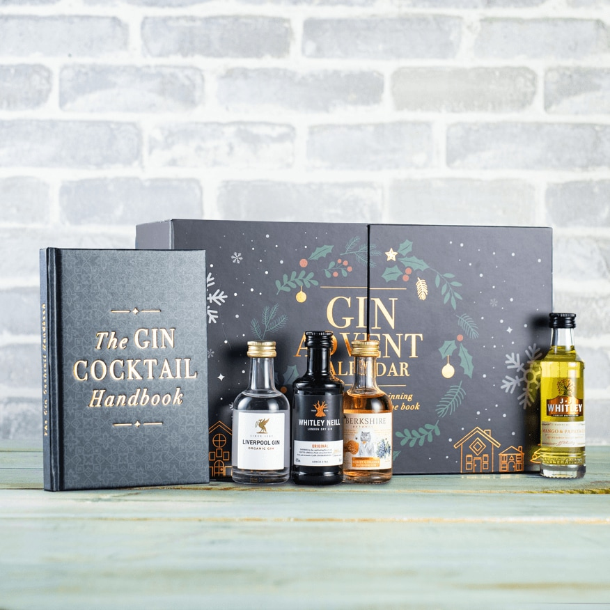 Advent Calendar Gin Cocktails Gift