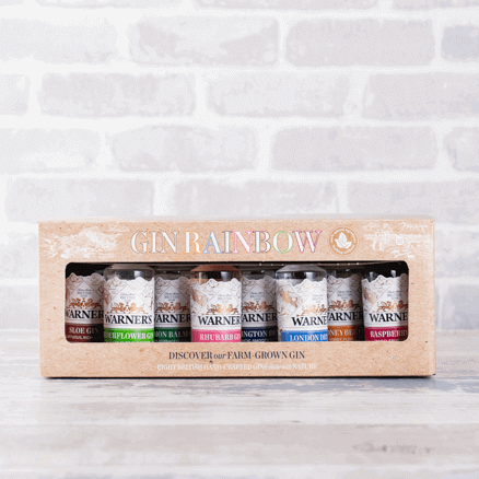 Warner's Gin Rainbow Gift Set