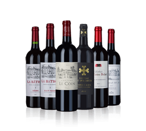 Bordeaux bestsellers Six