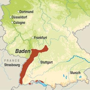 Map showing Haltingen