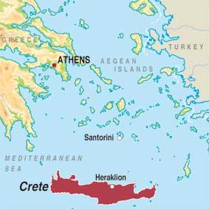 Map showing Undefined Greek Region