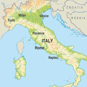 Map showing Vino Rosato