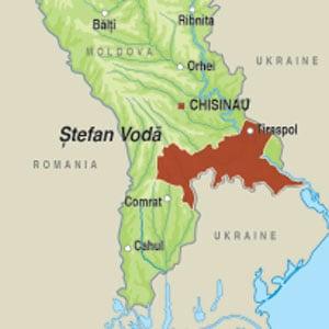 Map showing Stefan Voda